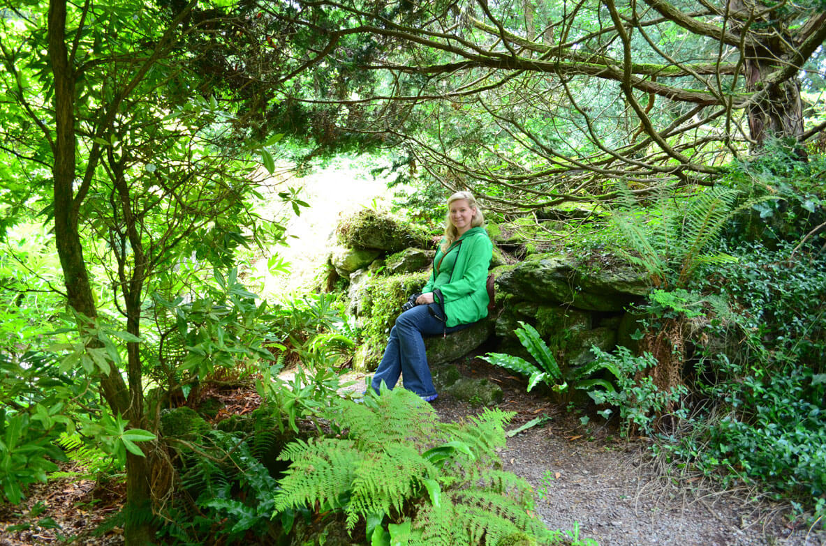 Blarney Castle Fairy Glen, Ireland - The Forest Fairy