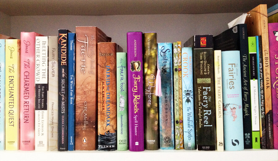 My Fairy Book Shelf