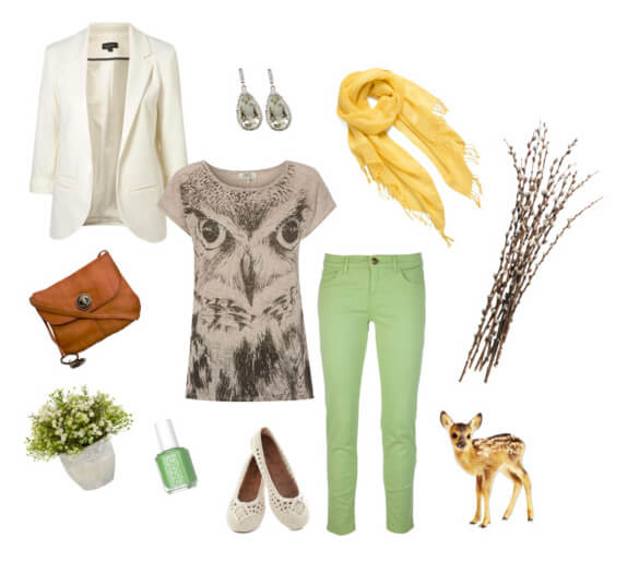 Spring Stroll Outfit