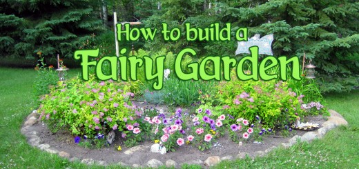 How To Build A Fairy Garden