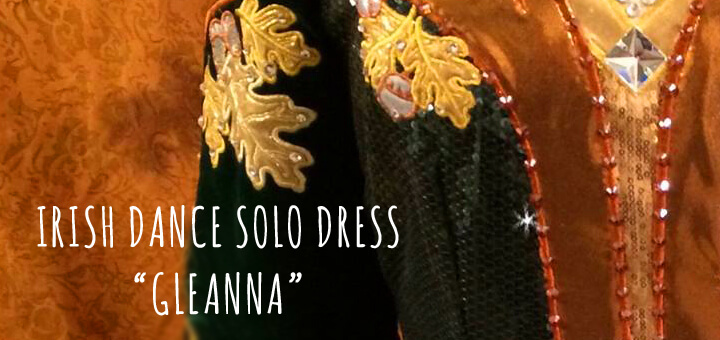 The Forest Fairy Irish Dance Solo Dress –  The story behind the symbols