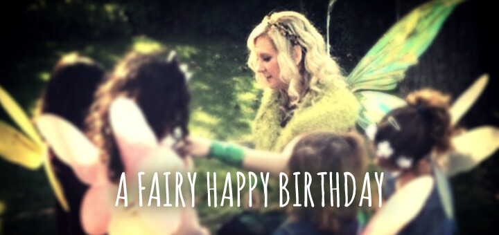 A Fairy Happy Birthday with The Forest Fairy