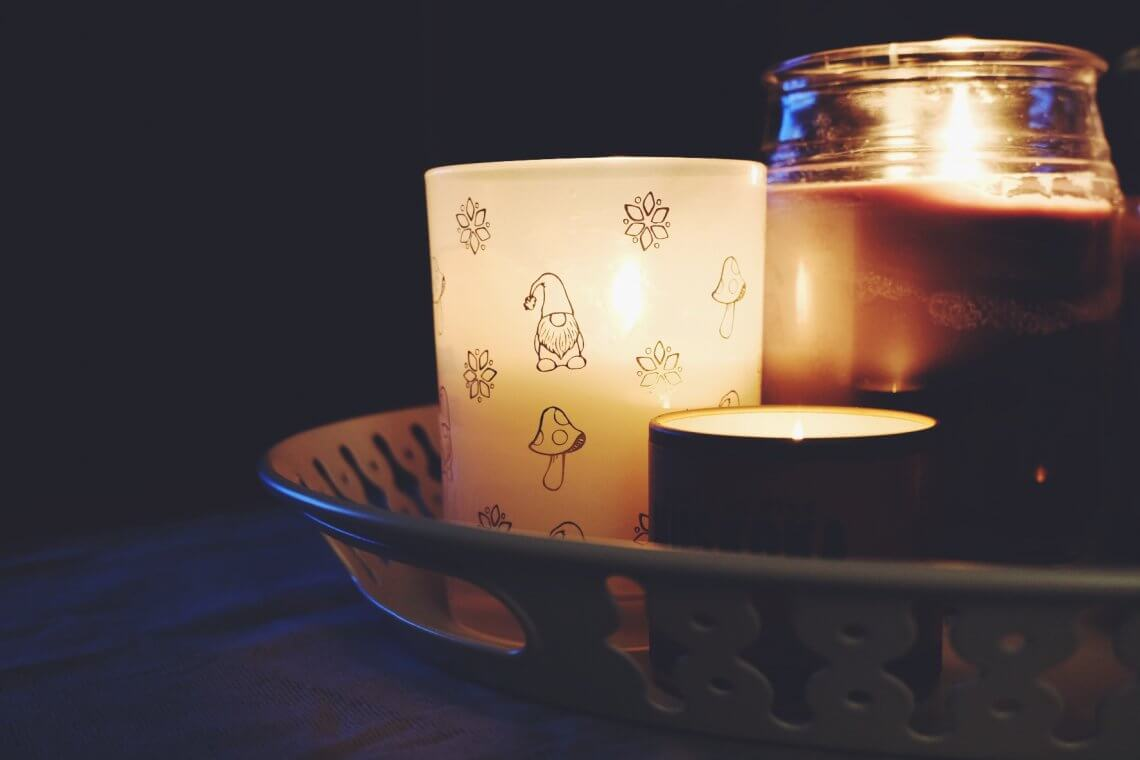 Hygge candles
