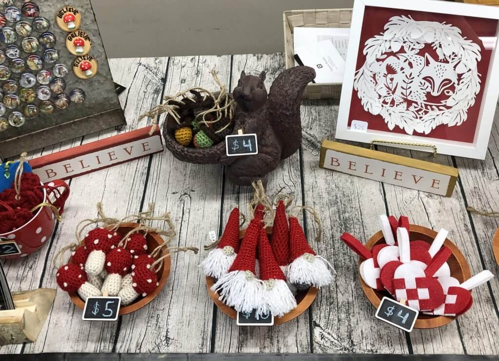 Craft Table 2018 Items